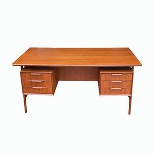 Dänischer Vintage Schreibtisch von Omann Jun, 1950er