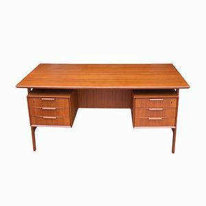 Vintage Danish Desk from Omann Jun, 1950s