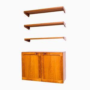 Mid-Century Teak Shelving System by H.W. Klein for Bramin, 1960s
