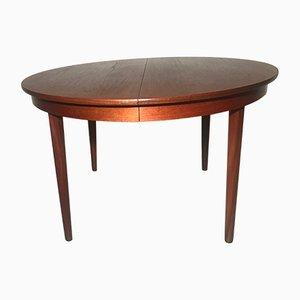 Table de Salle à Manger Vintage en Teck par Poul Volther pour Frem Røjle, 1960s