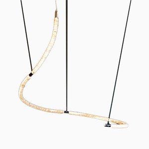 Nr. 2 Crystal Knots Lampe von Isaac Monté, 2019