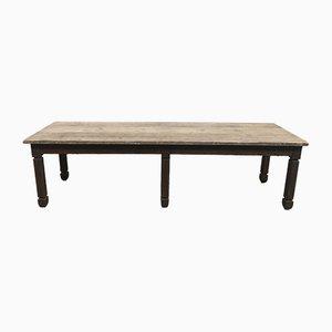 Grande Table de Ferme Antique