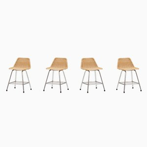 Stool by Rohé Noordwolde 1960s, Set of 4