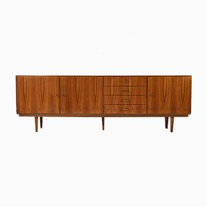 Large Walnut Sideboard, 1960s