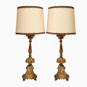 Lampes de Bureau 19ème Siècle, Set de 2