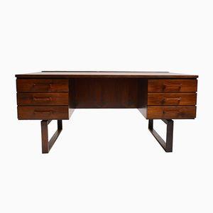 Rosewood Desk by Kai Kristiansen for Andersen Møbelfabrik, 1950s