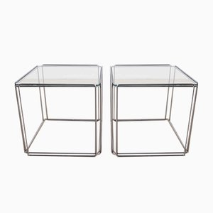 Isocele Side Tables by Max Sauze, Set of 2