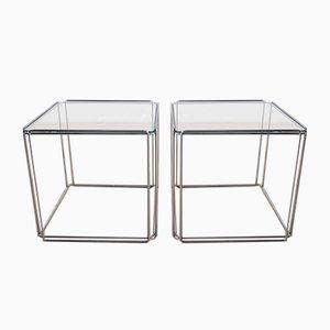 Tables d'Appoint Isocèles par Max Sauze, Set de 2