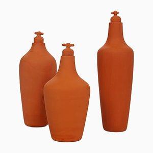 Botellas de agua de Lotte de Raadt para Vij5. Juego de 3