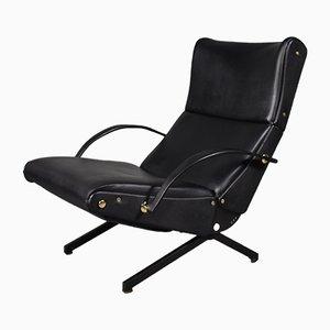 Italian P40 Lounge Chair by Osvaldo Borsani for Tecno, 1970s
