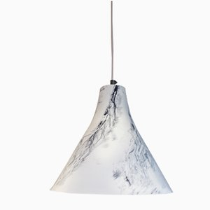 Marney Pendant in Hand-Painted Marble by Carmen Lyngard for Lyngard