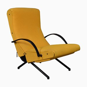 Vintage P40 Lounge Chair by Osvaldo Borsani for Tecno, 1950s