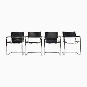 Bauhaus MG5 Stühle von Mart Stam für Matteo Grassi, 1970er, 4er Set