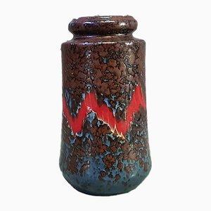 Vintage Fat Lava Vase aus Sandstein