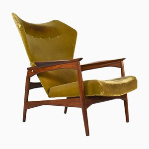 Wingback Lounge Chair by Ib Kofod-Larsen for Garhn, 1960s