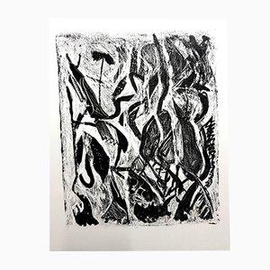 Kafka Lithografie von Jean-Michel Atlan für Maeght, 1946
