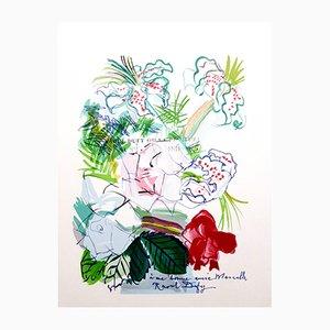 Composition Lithografie von Raoul Dufy, 1965