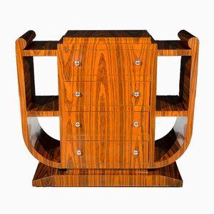 Art Deco French Rosewood Console, 1930s