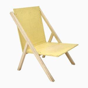 Mid-Century Dutch Prototype Salon Chair by Gerrit Rietveld Jr., 1955