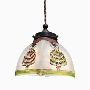 Kleine Art Deco Deckenlampe