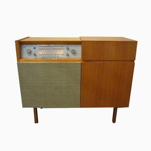 Mobiletto HM1 con radio e giradischi di Braun, 1956