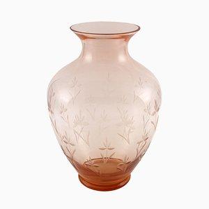 Antike Jugendstil Amphora Vase von Salviati
