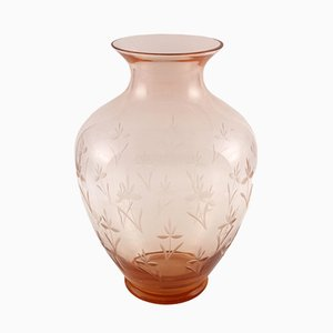 Antique Art Nouveau Amphora Vase by Salviati