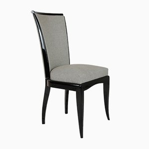 French Art Deco Chairs, 1930s, Set of 6