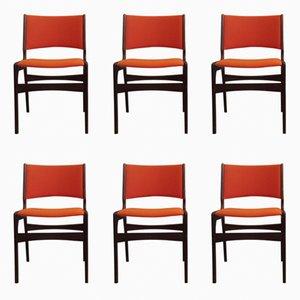 Mid-Century Esszimmerstühle aus Teak von Anderstrup, 1960er, 6er Set