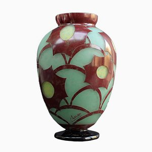 Cosmos Vase by Charles Schneider, 1928