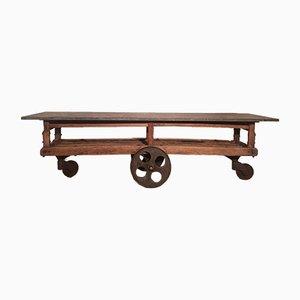 Mesa de taller antigua