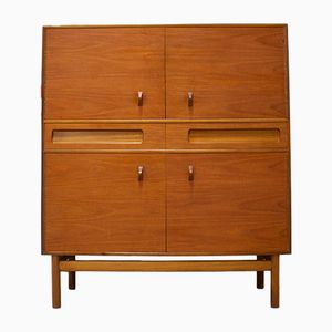 Mid-Century Teak Drinks Cabinet with Bar from McInstosh, 1960s