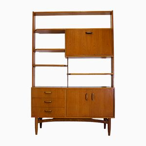 Mid-Century Teak Room Divider or Wall Unit from G-Plan