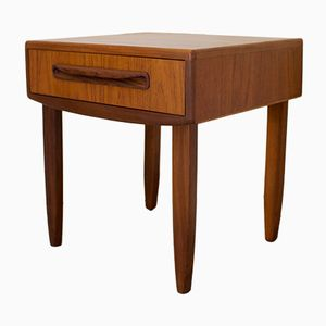 Mid-Century Teak Bedside Table from G Plan