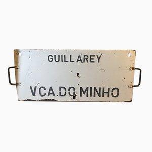 Spanisches Vintage Zug-Poster