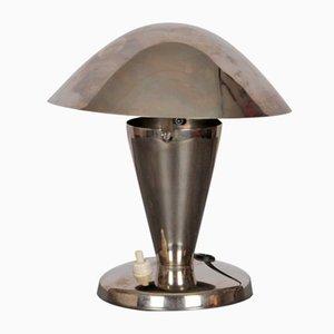 Lámpara de mesa checa, años 40