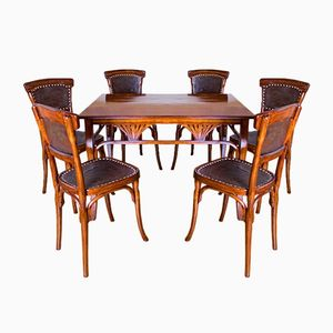 Wien Secession Dining Set from Jacob & Josef Kohn, 1910