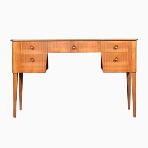 Mid-Century Walnut & Beech Desk from Gordon Russell