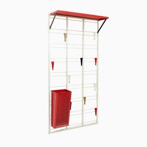 Perchero Note Ladder vintage de Coen de Vries para Pilastro, 1954