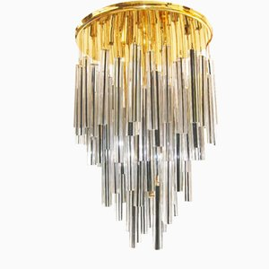 Vintage Murano Glass Chandelier from Venini, 1970s