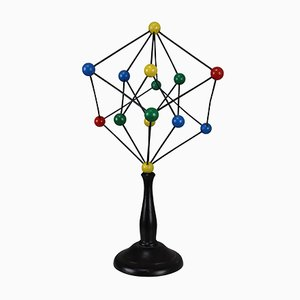Mid-Century Scientific Crystal Molecular Model, 1960s