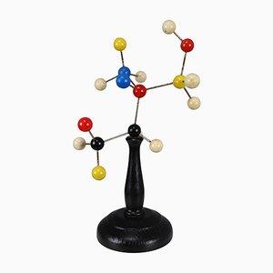 Modello molecolare scientifico Mid-Century, anni '60
