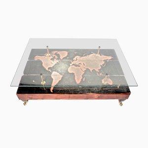 Tavolino da caffé World Map di Cappa E Spada
