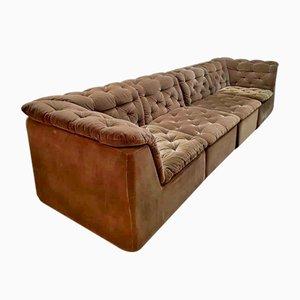 Vintage Velvet Modular Sofa from Laauser