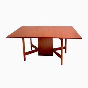 Table Gateleg en Teck par Kurt Østervig, 1960s