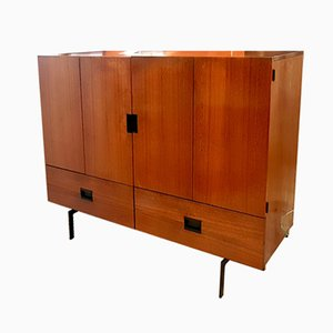 Japanese Series Teak Highboard by Cees Braakman for Pastoe, 1960s