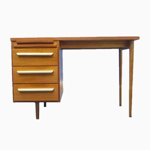 Mid-Century German Teak Desk from Stolzenberg