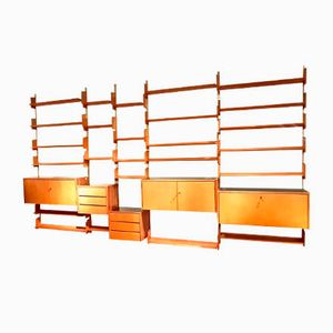 Large Sycamore Wall Unit from WK Möbel