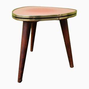 Kleiner dreibeiniger Tisch, 1950er