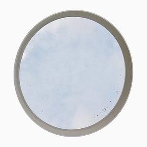 Large Round Vintage Mirror